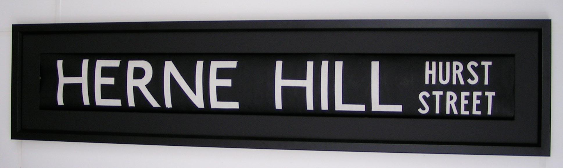 Herne hill singles
